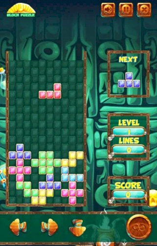 Satılık Android Tetris Oyunu