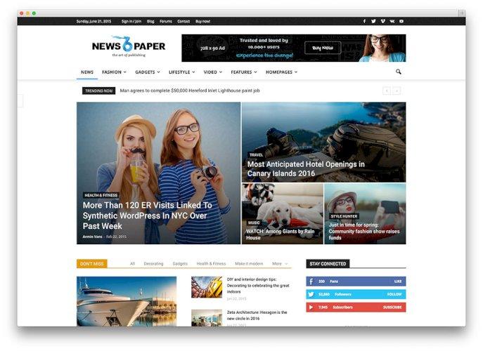 Satılık Haber Sitesi Scripti  PHP veya Wordpress haber teması